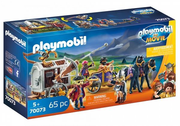 Playmobil: The Movie - Charle i powóz rzezimieszków (70073)
