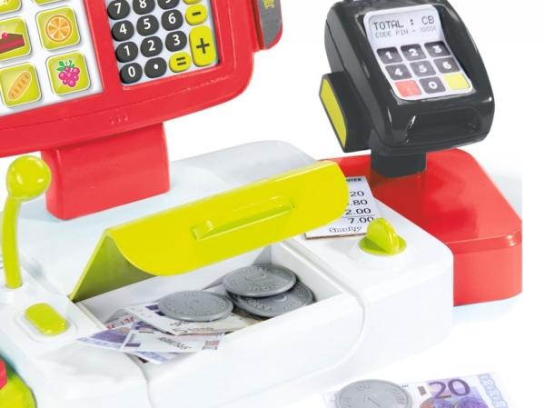 Elektroniczna kasa czerwona (7600350107)