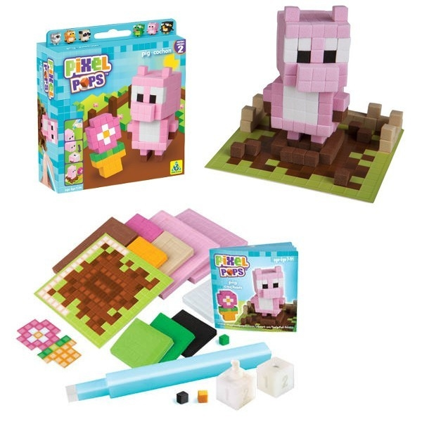 TOF PixelPops, Pixelowy zwierzak, świnka