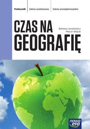 Czas na geografię Podręcznik Zakres podstawowy Lenartowicz Barbara, Wójcik Marcin