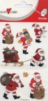 Nalepka wesoły Mikołaj