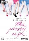 Mąż potrzebny na już  (Audiobook) Falkowska Małgorzata