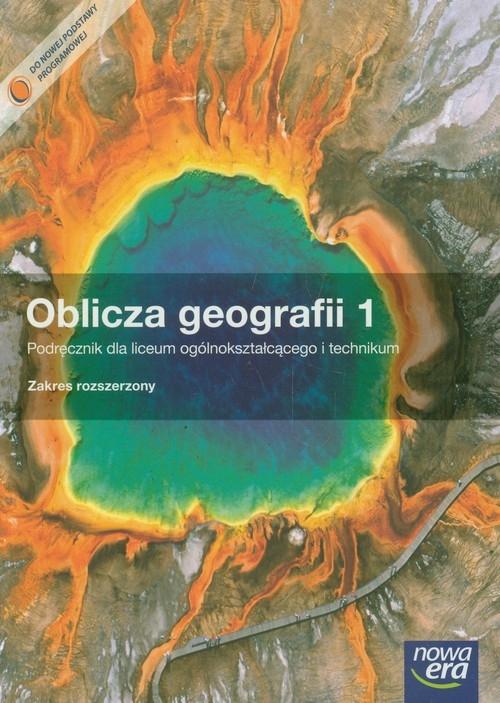 Oblicza geografii 1 Podręcznik z płytą CD Zakres rozszerzony Malarz Roman, Więckowski Marek