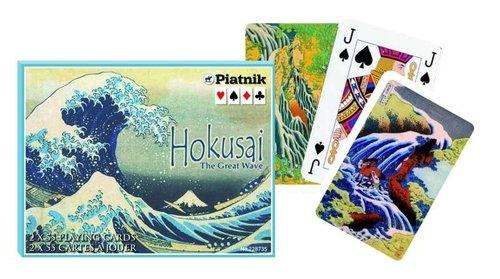 Karty Hokusai, Wielka fala 2 talie