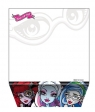 Notes skośny Monster High