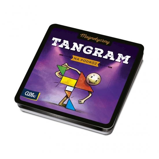 Magnetyczne gry - Tangram (Uszkodzone opakowanie) (33678)