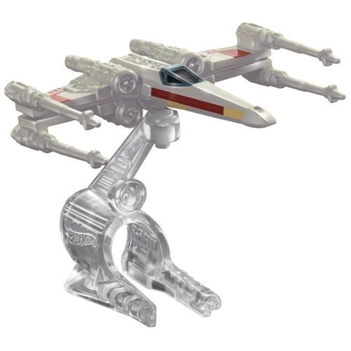 Hot Wheels Star Wars Statek kosmiczny X-Wing Red 3