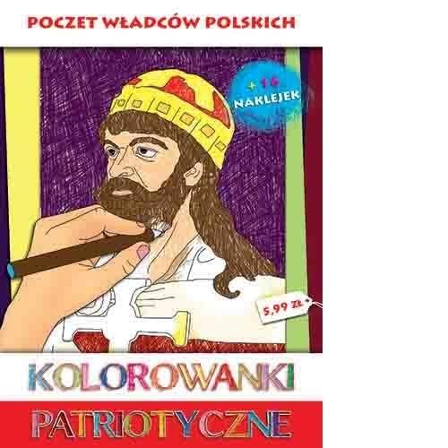 Kolorowanki patriotyczne Poczet władców polskich