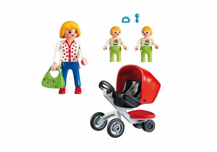 Playmobil City Life: Wózek dla bliźniaków (5573)