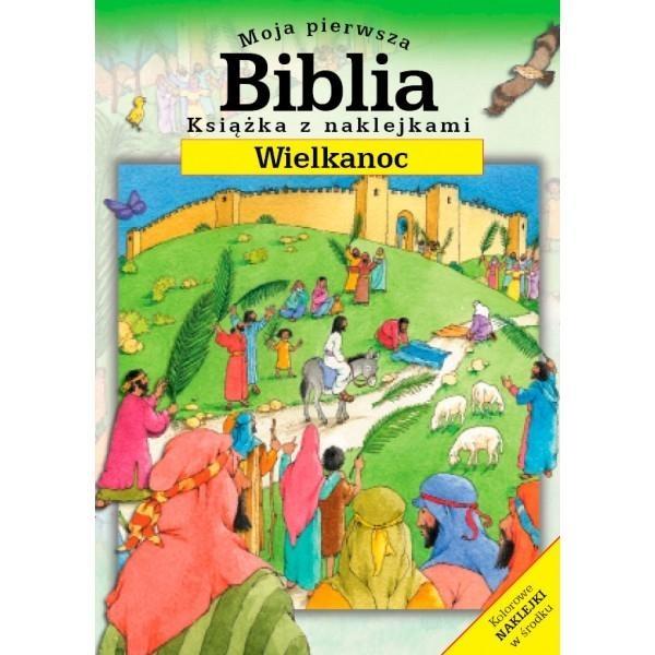 Moja pierwsza Biblia mini Wielkanoc Moira Maclean