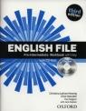 English File Pre-Intermediate Workbook with key + CD