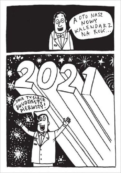 Kalendarz na rok 2021. Przekrój