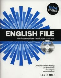 English File Pre-Intermediate Workbook with key + CD Latham-Koenig Christina, Oxenden Clive