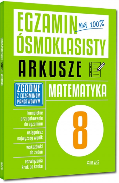 Egzamin ósmoklasisty - arkusze - matematyka Roman Gancarczyk