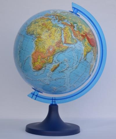Globus fizyczny 3D 250 mm