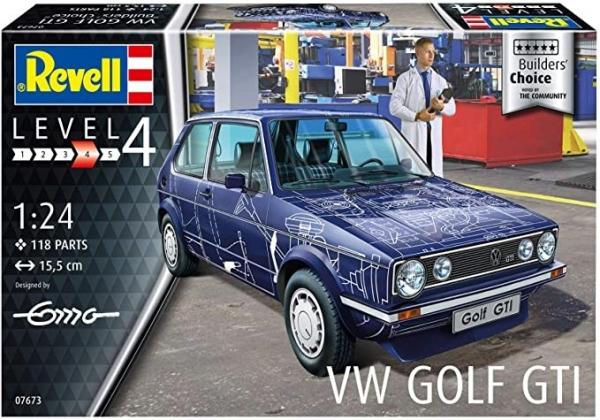 Model do sklejania VW Golf GTI Builders Choice (07673)