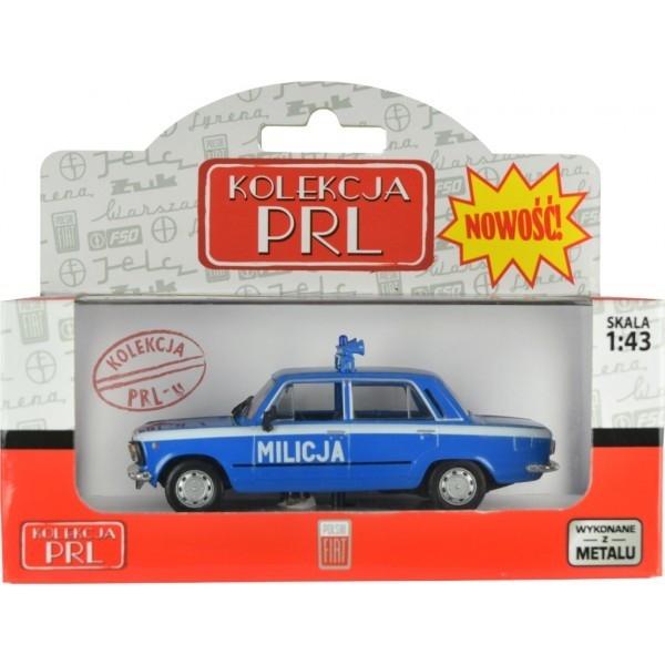 Pojazd PRL Fiat 125P Milicja (B-273)