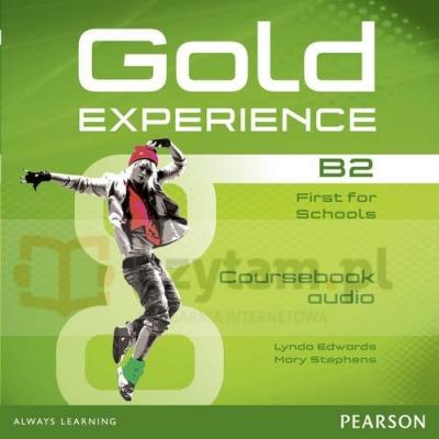Gold Experience B2 Class CDs (3) Lynda Edwards, Mary Stephens