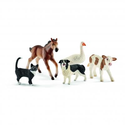 Zwierzęta wiejskie MIX - 42386