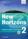 New Horizons 2 Student's Book and Workbook + CD