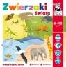 Kapitan Nauka. Gra edukacyjna - Zwierzaki świata Wiek: 6+ Czapczyk Paweł