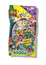 Koraliki do prasowanek 3000 sztuk perłowy miks (00773)