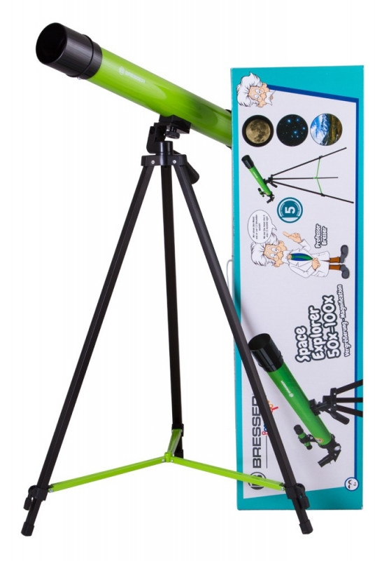Teleskop Space Explorer 45/600 AZ zielony (70130)