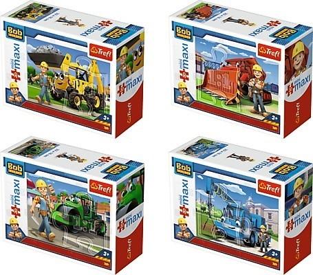 20 elementów Mini Maxi, Bob Budowniczy/ 24 sztuki (56002)