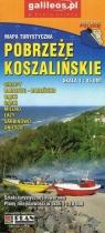 Mapa turystyczna - Pobrzeże Koszalińskie 1:45 000