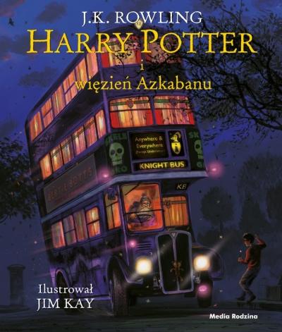 Harry Potter i więzień Azkabanu. Tom 3 – wydanie ilustrowane J.K. Rowling