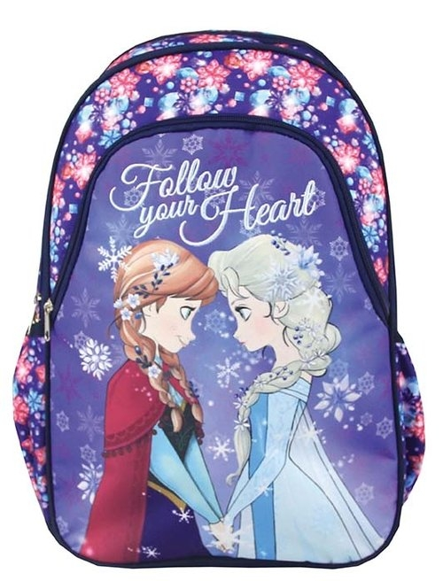 Plecak Zaokrąglony - Frozen: Follow Your Heart