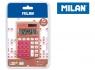 Kalkulator kieszonkowy Milan Copper - Różowy (159601CPPBL)