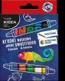 Kredki woskowe Jumbo dwustronne 8 kredek 16 kolorów