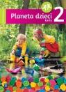 Planeta dzieci. Czterolatek. Karty pracy. Część 2