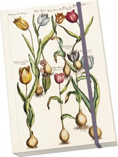 Notatnik ozdobny A5 STNOTE 73 Tulipany