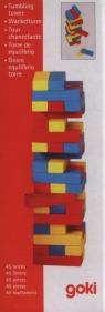 Wieża Jenga mała kolorowa