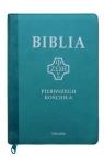 Biblia Pierwszego Kościoła turkusowa z paginatorami i suwakiem