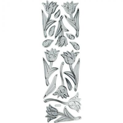 Naklejka (nalepka) Titanum Craft-Fun Series kwiaty (PFH07)