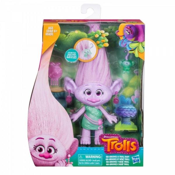 Trolls Glitter Girl z dzieckiem (E0144/E0356)