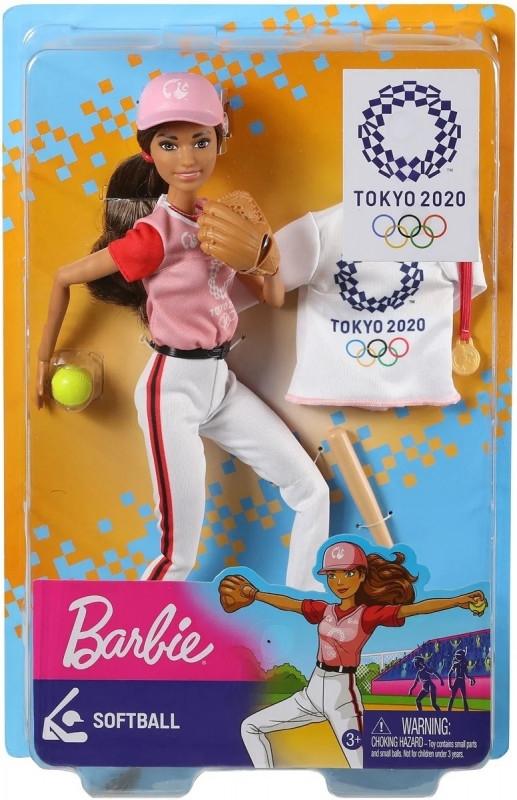Lalka Barbie Olimpijka Softbolistka (GJL73/GJL77)