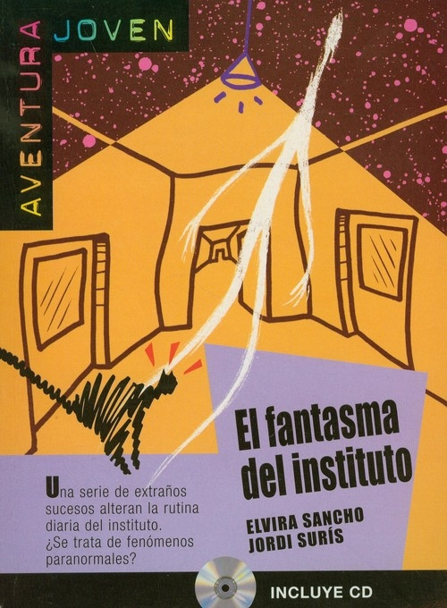 El fantasma del instituto z płytą CD Sancho Elvira, Suris Jordi