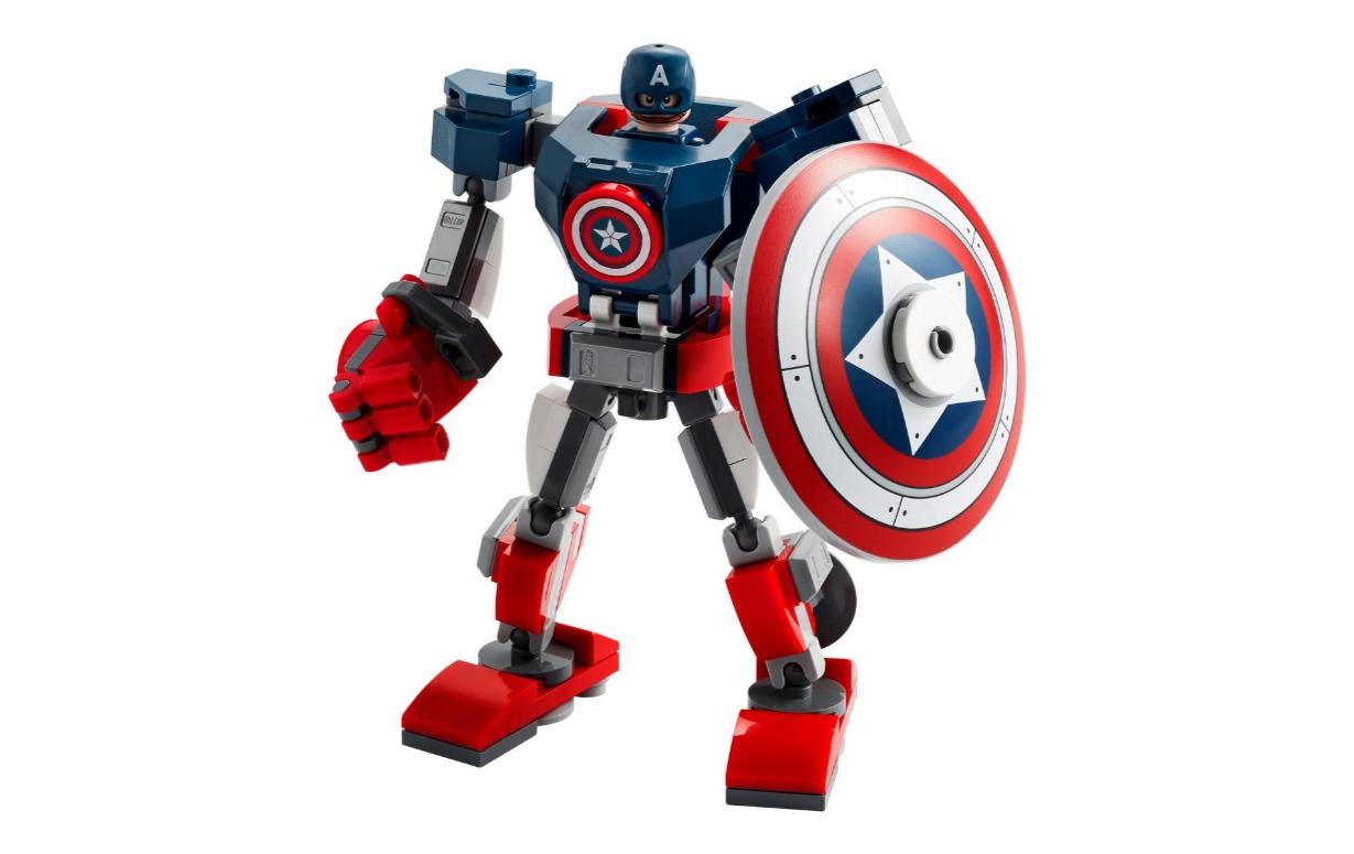 Lego Marvel Super Heroes: Opancerzony mech Kapitana Ameryki (76168)