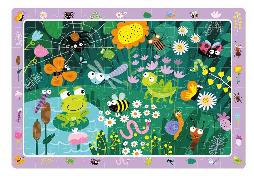 Puzzle obserwacyjne 80: W ogrodzie (DOP300260)