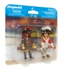 Playmobil: DuoPack - Pirat i oficer Rotrock (70273)