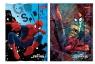 Teczka z gumką A4 Spider-man mix