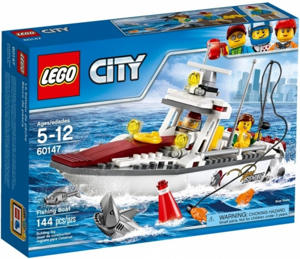 Lego City: Łódź rybacka (60147)
