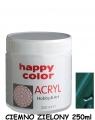 Farba akrylowa 250ml ciemnozielony (7370 0250-52)