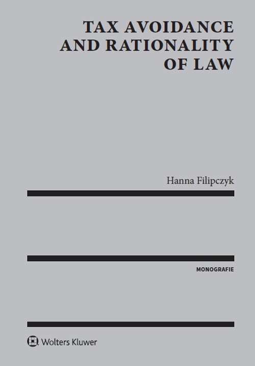 Tax avoidance and rationality of law Filipczyk Hanna