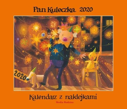 Kalendarz Pan Kuleczka 2020 Widłak Wojciech