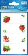 Naklejki na przetwory - owoce (59673)